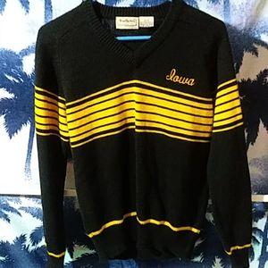Vintage Brian MacNeil sportswear Iowa Sweater Sz S